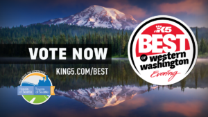 Vote for us- King 5 Best of Western WA!