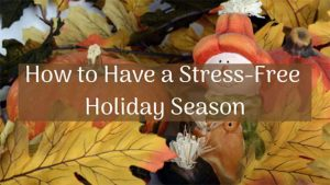 Stress free holiday season with NW Therapeutic Massage